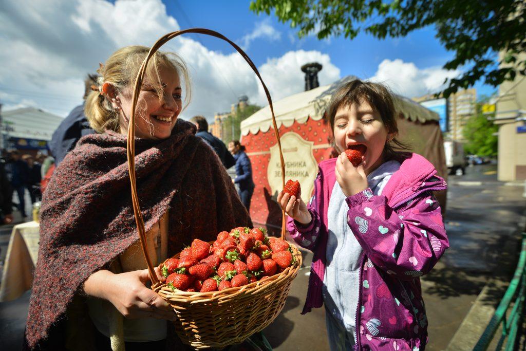 Фестиваль клубники: москвичи смогут приобрести более 20 сортов летней ягоды