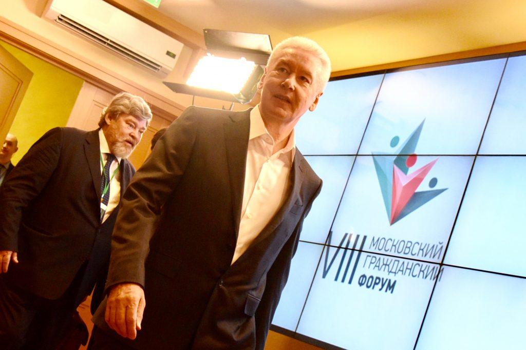 Собянин поблагодарил москвичей за очень активное участие в обсуждении реновации