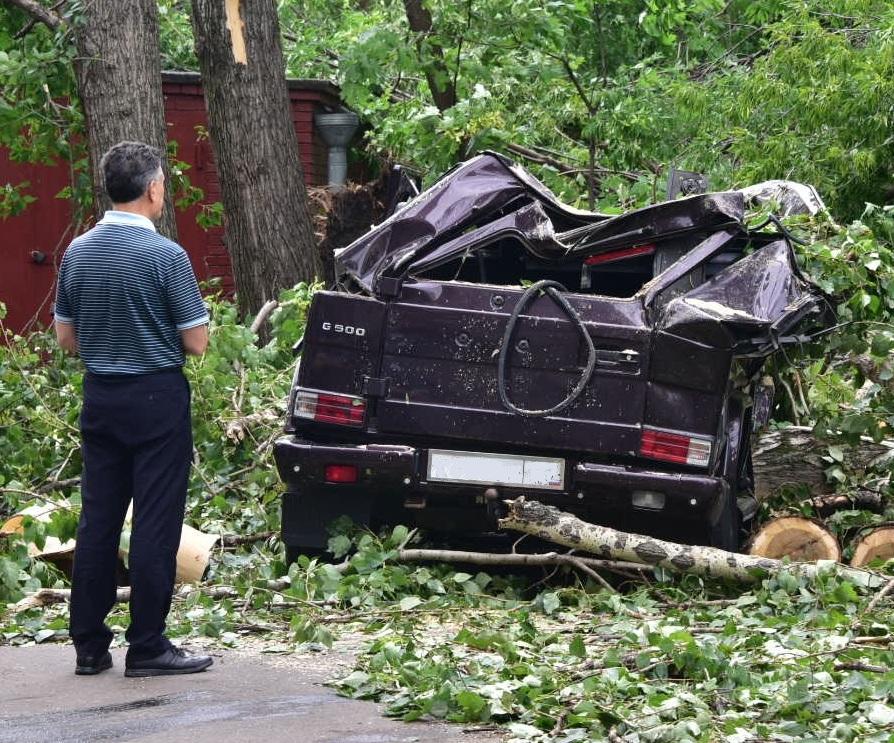 В Москве начали возмещать ущерб за ураган 29 мая