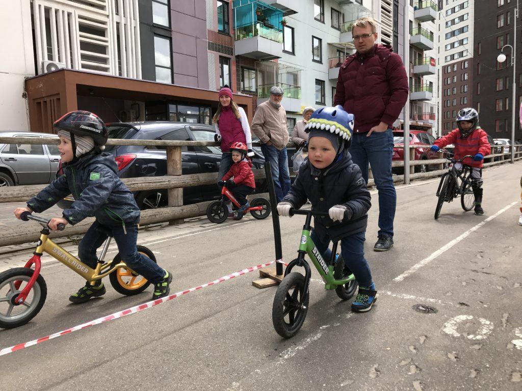 Спортивный праздник для детей состоялся в микрорайоне Эдальго