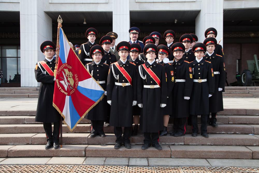 Более 12 тысяч ребят числится в рядах кадетского движения Москвы
