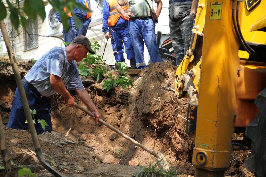 Благоустройство дворов Троицка завершится к концу лета