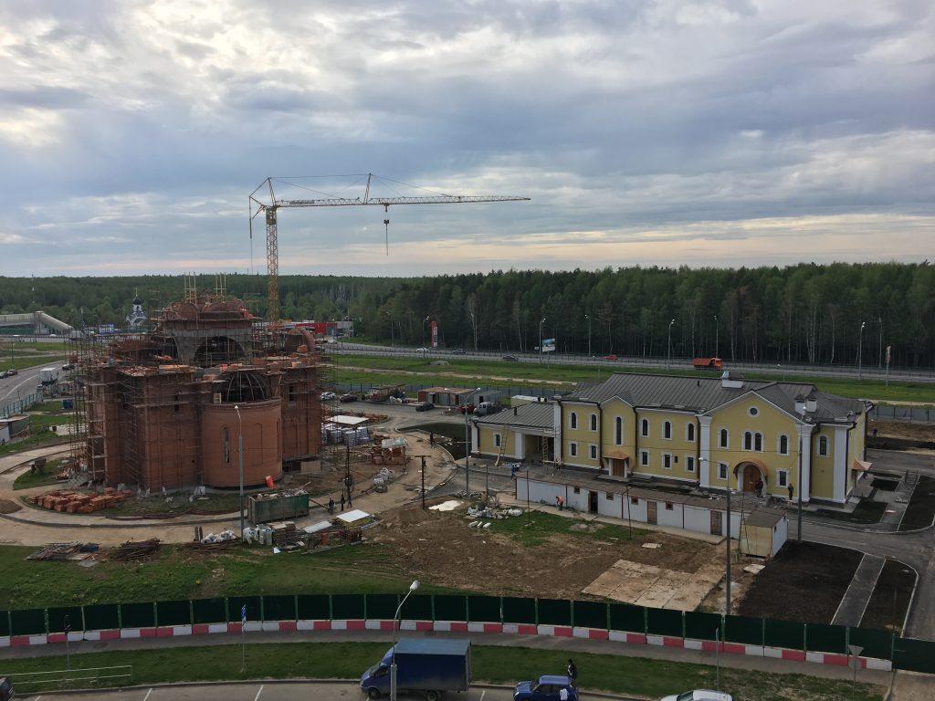 Начался следующий этап строительства храма во Внуковском