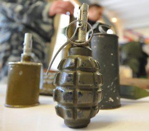 Дембеля с гранатами задержали в центре Москвы