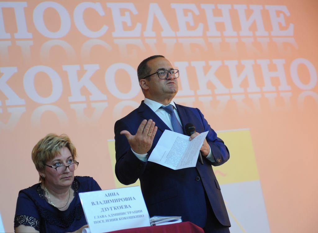 Итоги пятилетия поселения Кокошкино обсудили на встрече с префектом ТиНАО Дмитрием Набокиным
