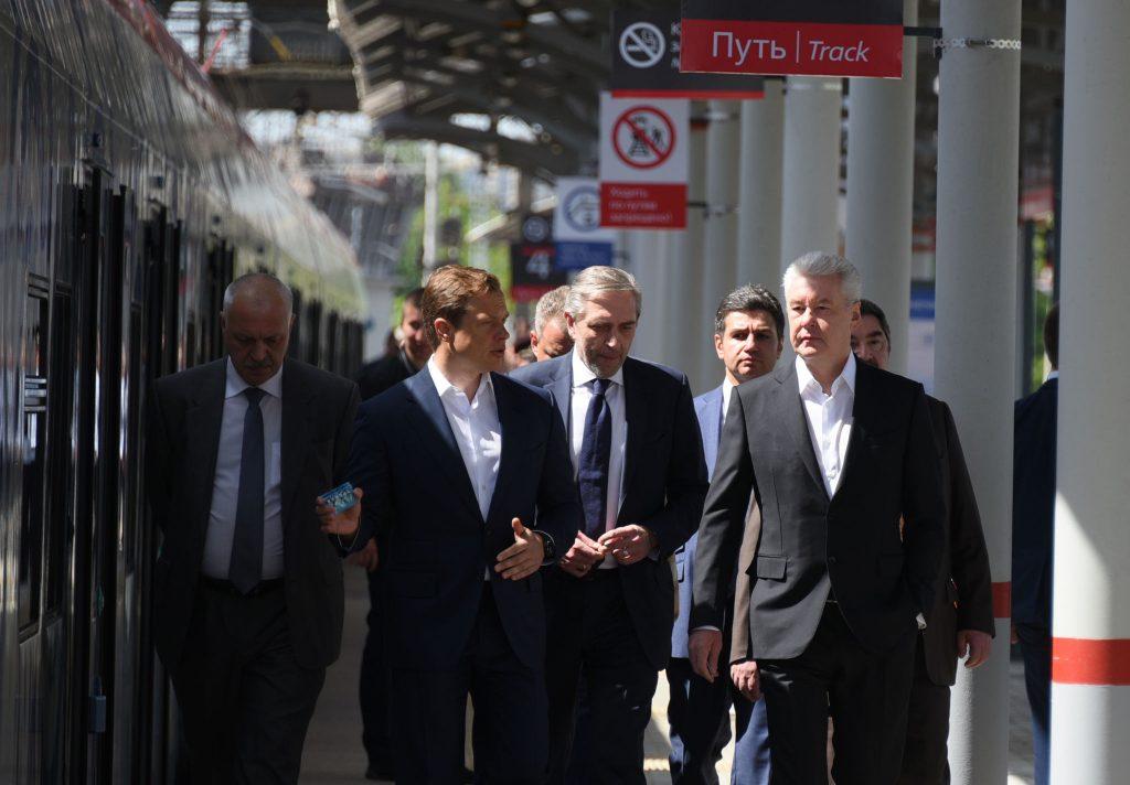 Собянин открыл новый транспортно-пересадочный узел «Солнечная»