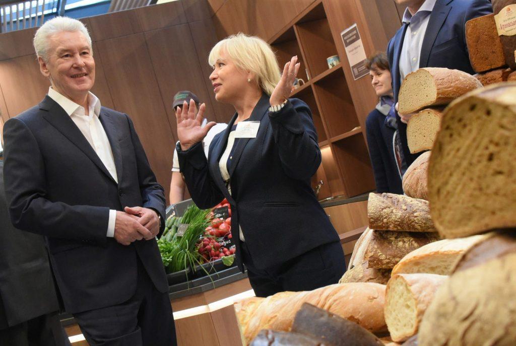 Собянин: Рыночная торговля в Москве выходит на качественно новый уровень
