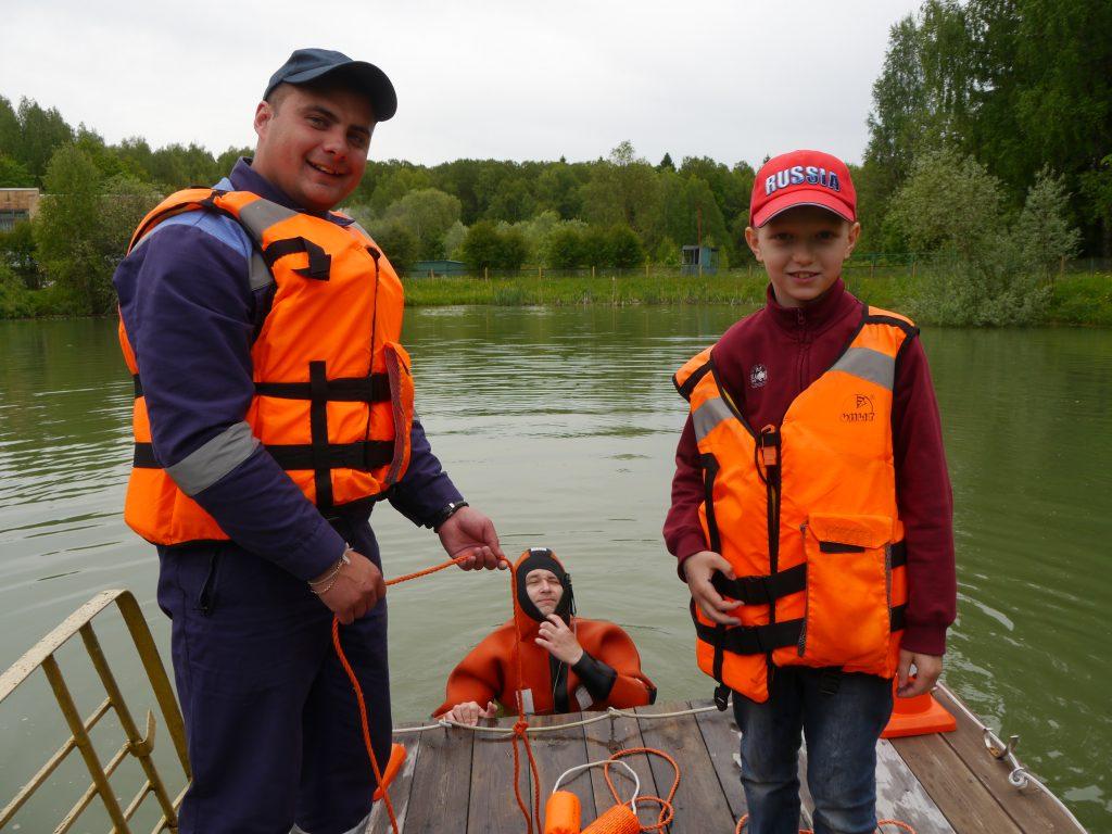 Спасатели напомнят в летних лагерях правила безопасности на воде