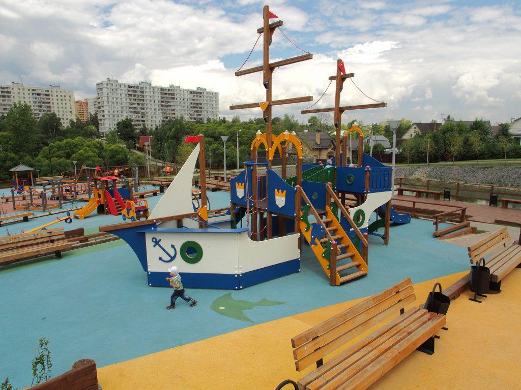 Поселение Марушкинское: Звонкое имя нашего парка