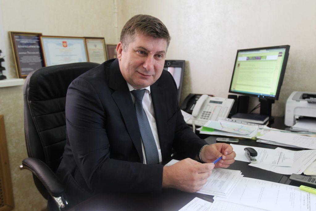 Глава администрации Внуковского Павел Федулкин. Фото: Владимир Смоляков