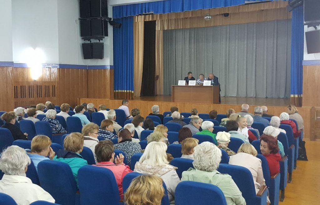 Энергетики филиала «Новая Москва» встретились с жителями Вороново и Щапово