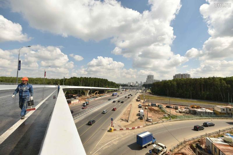 Путепровод в Кокошкино планируют открыть в конце июля