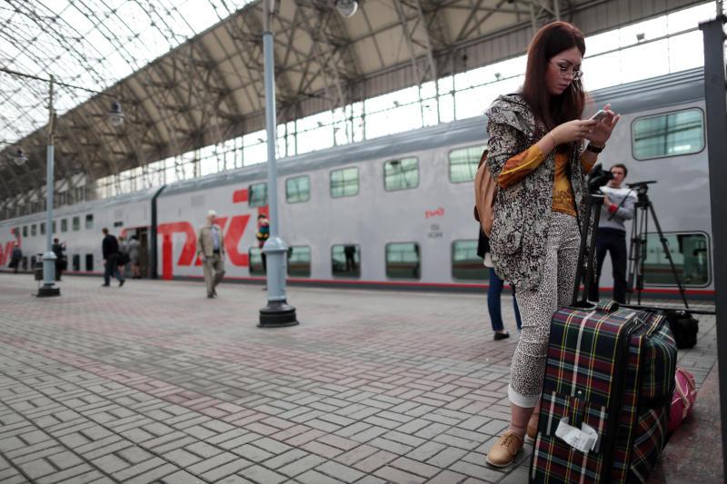 Красный зал Киевского вокзала открыли после комплексной реставрации. Фото: архив, «Вечерняя Москва»