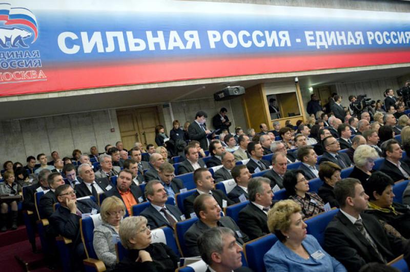 «ЕР» просит Собянина организовать видеонаблюдение на всех избирательных участках