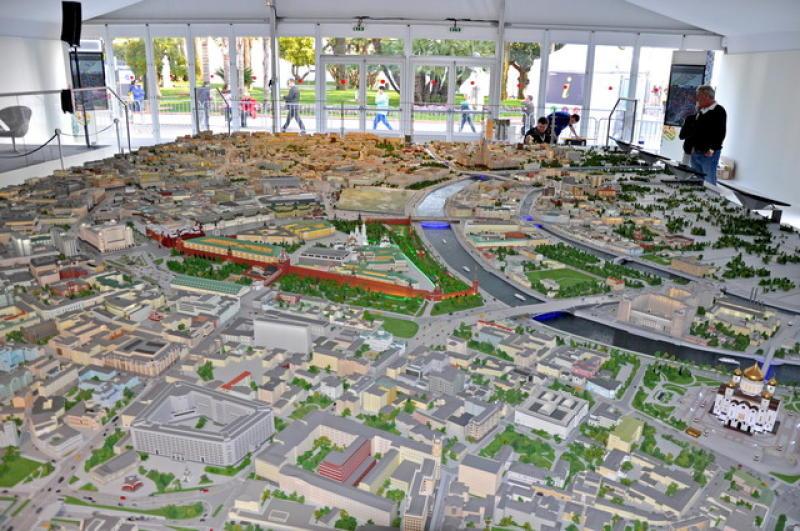 Экспозиция «Новая Москва: развитие новых территорий» откроется в «Доме на Брестской»