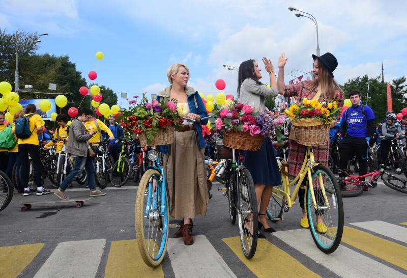 День молодежи жители поселения Рязановское отметят велопарадом