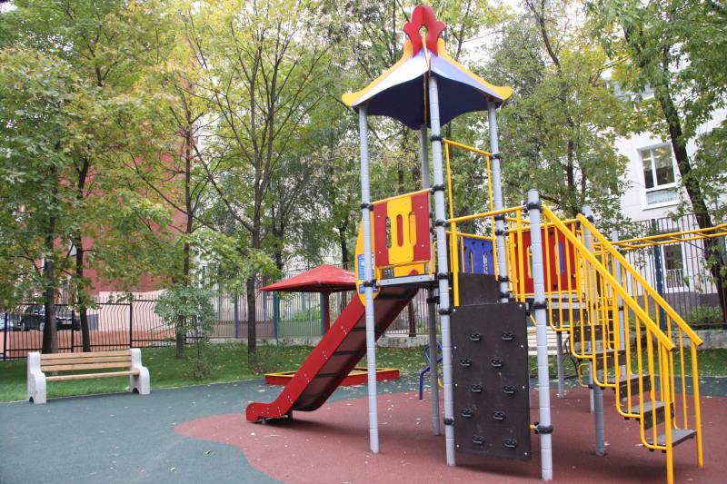 Детскую и спортивную площадки планируют установить в Марушкинском в августе 2017 года. Фото: архив, «Вечерняя Москва«