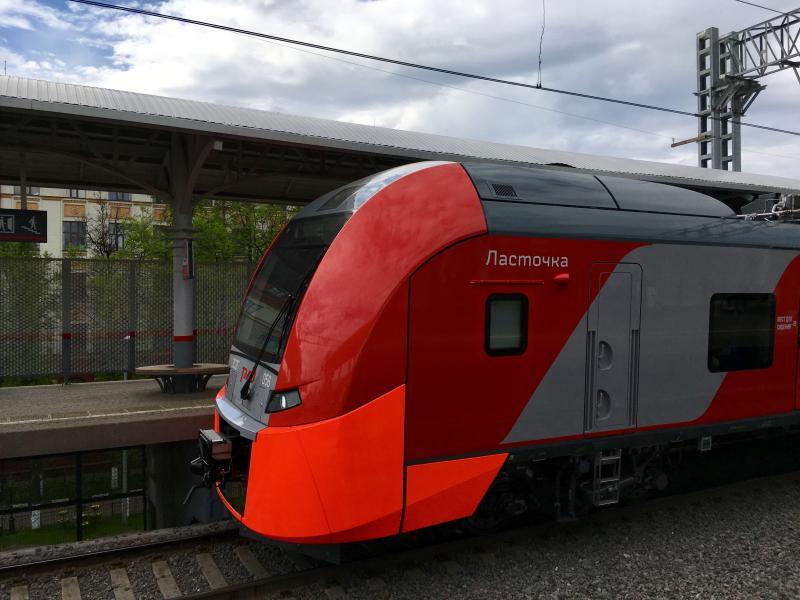 Новый поезд «Ласточка» с дополнительными ручками-держателями запустят на МЦК