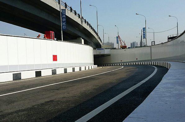 Четыре тоннеля появились на Калужском шоссе в Новой Москве