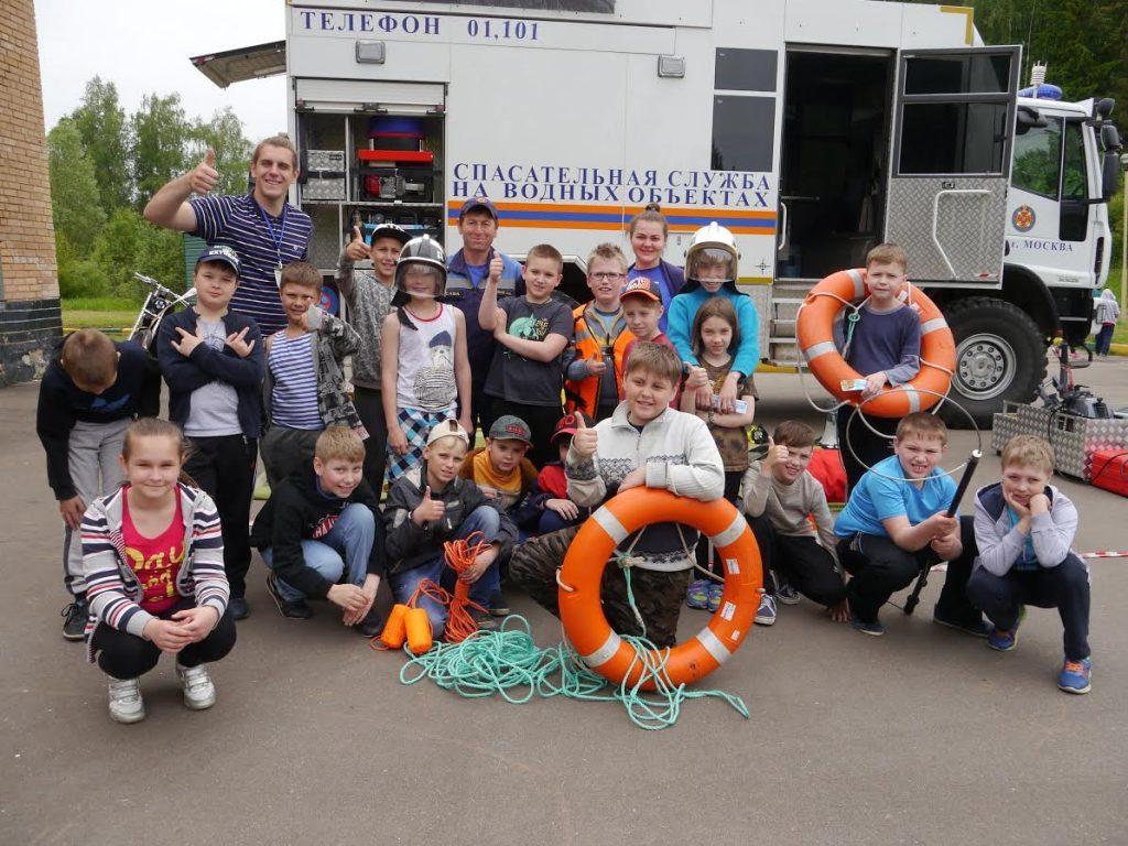 Спасатели напомнят детям в летних лагерях о безопасности на воде