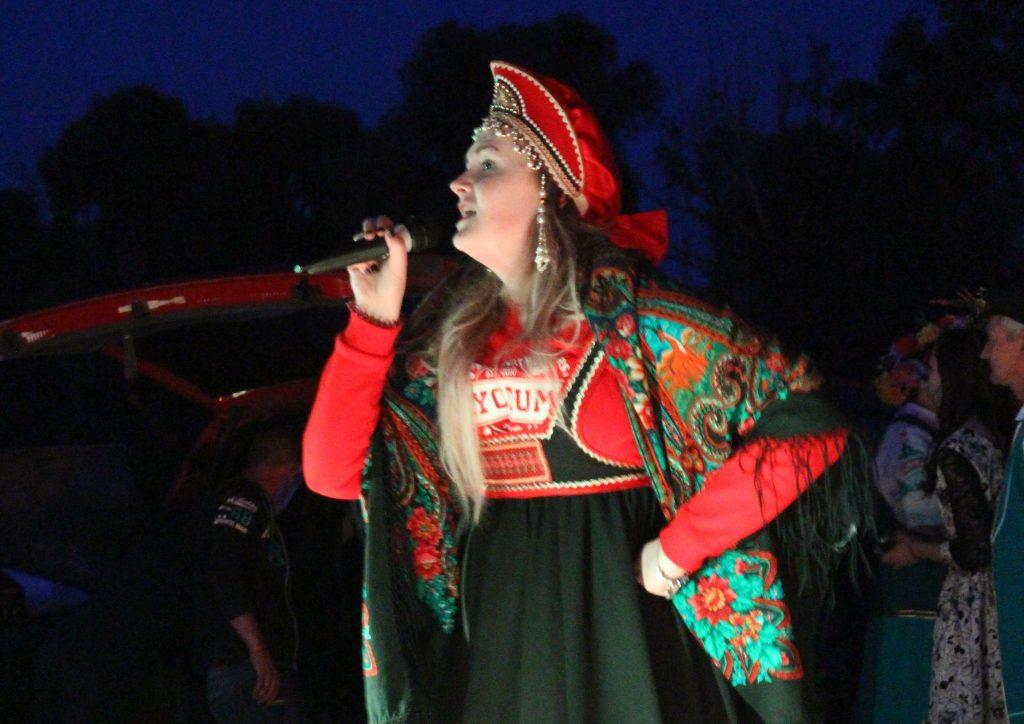 Обрядовые песни пели всю ночь. Фото предоставлено спортивно-досуговым центром «Маяк»