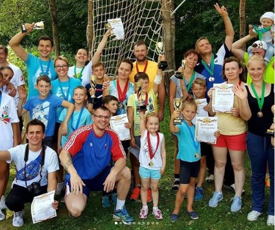Окружной этап «Туристического слета»: 11 семей показали свою ловкость и подготовку на трассе