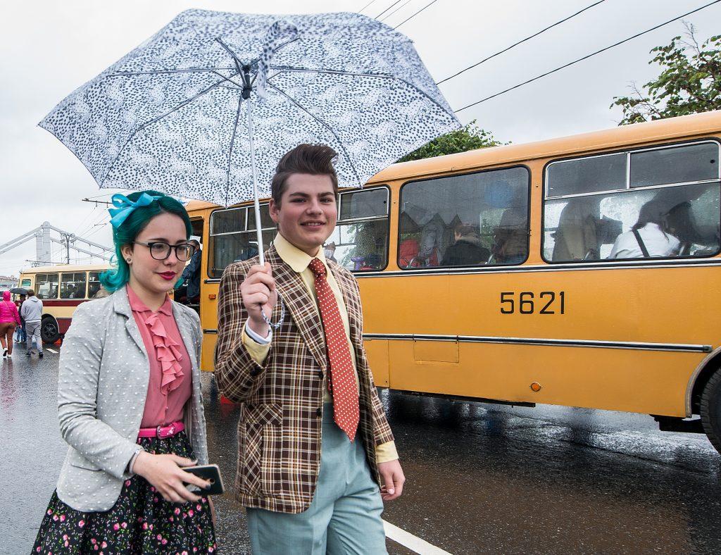 На четверг московские синоптики предрекли дождь