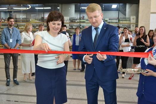 Мини-отделение почты торжественно открыли в Московском