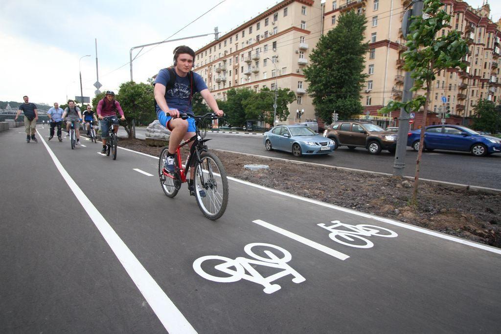 Тротуары с велодорожками сделают в Новофедоровском