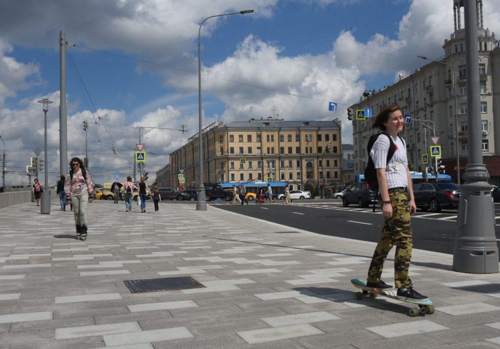 Около 30 километров набережных Москвы благоустроят ко Дню города