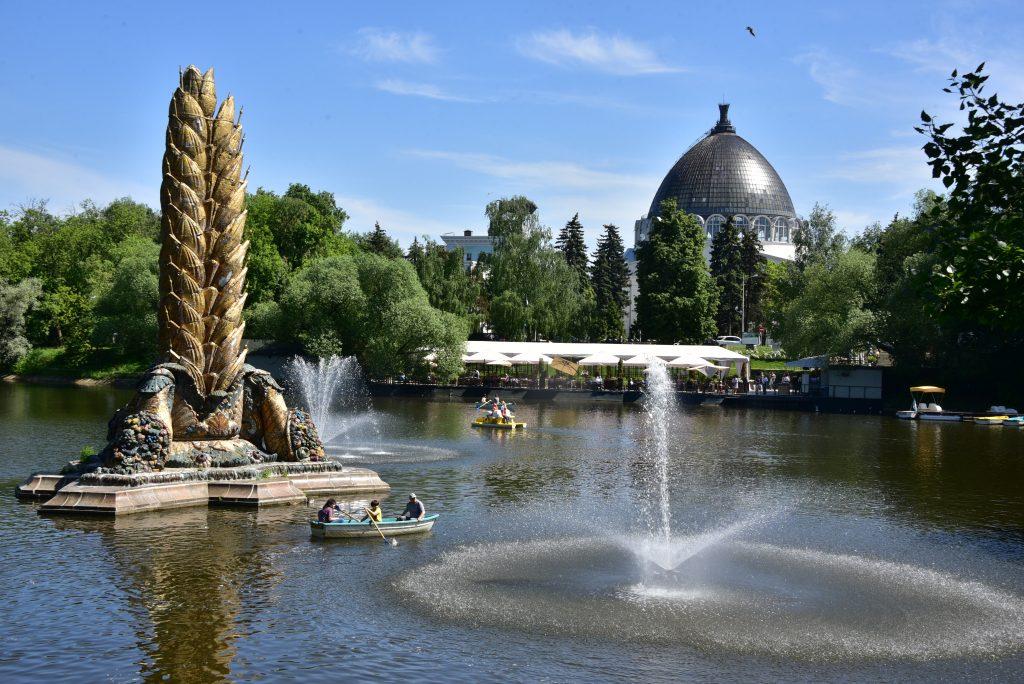 Сергей Собянин сообщил о реставрации фонтана на ВДНХ