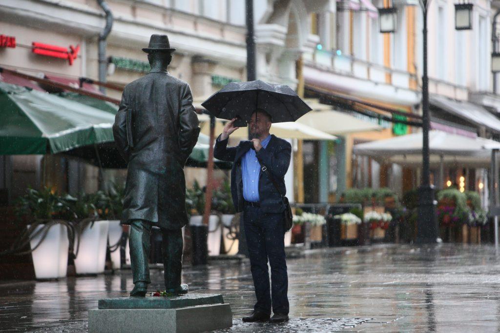Дожди вновь накрыли Москву