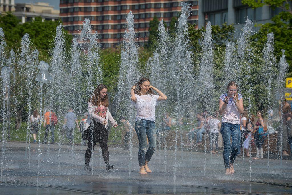 Среду объявили самым жарким днем в Москве с начала года