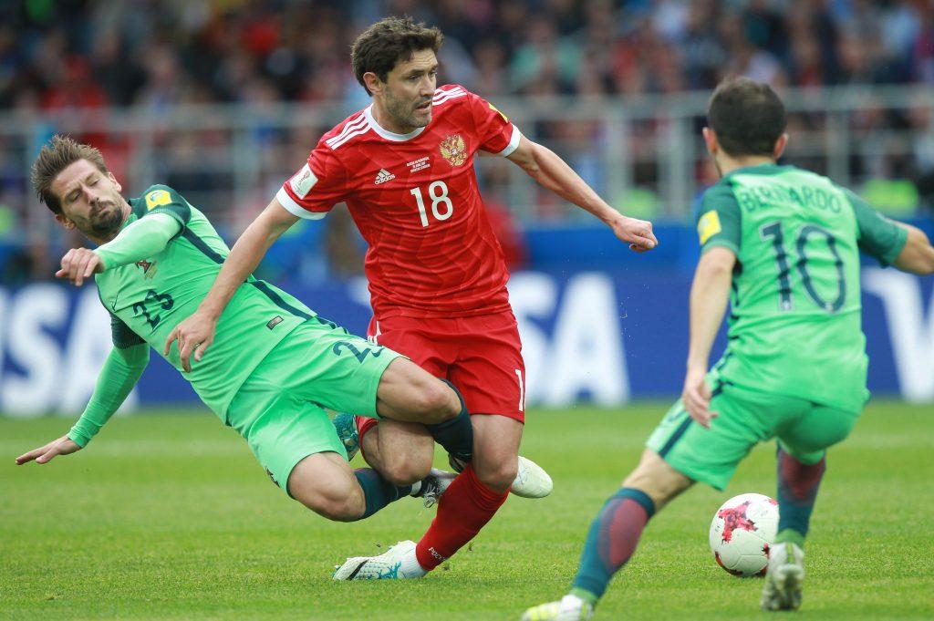 ФИФА подняла сборную России в своем рейтинге