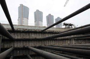 На севере Москвы ограничили движения транспорта