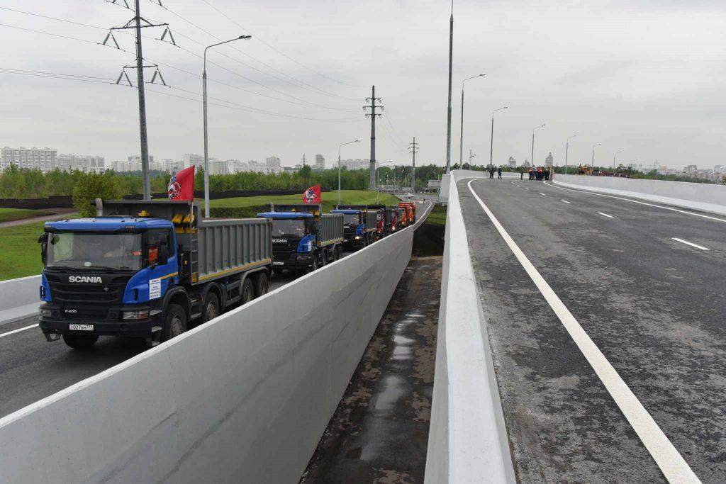 Развязку Московской кольцевой дороги с Профсоюзной улицей откроют в сентябре