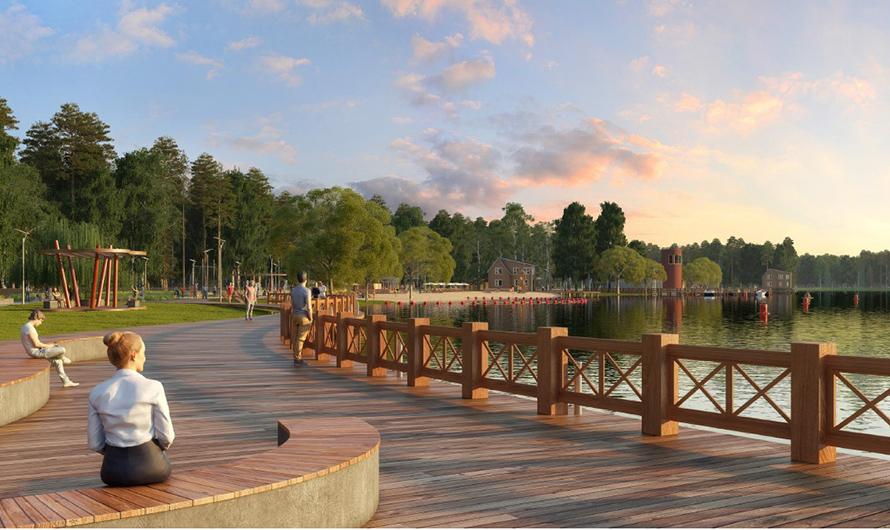 Новая береговая зона отдыха появится в Кленовском