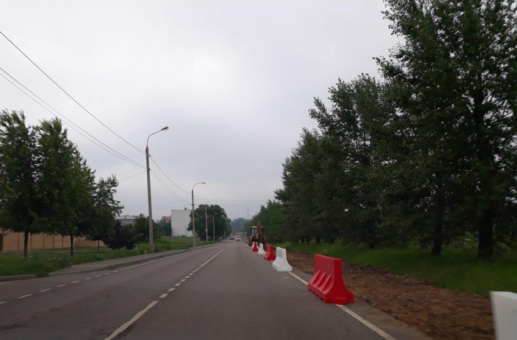 Дорогу для автобусного маршрута подготовят в Рязановском