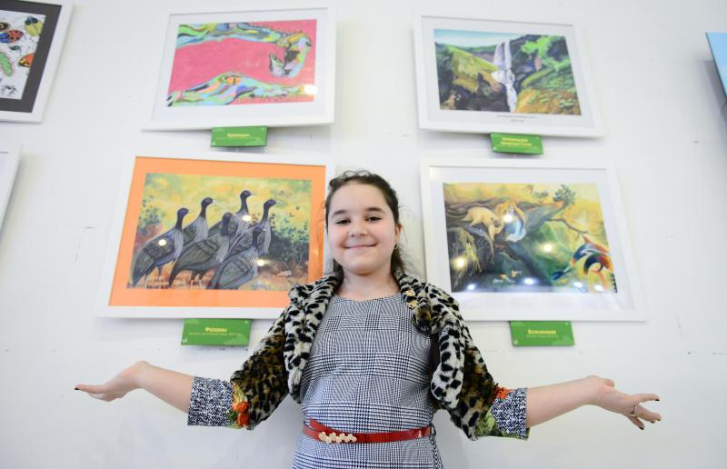Центр госуслуг поселения Московский устраивает выставку детских рисунков