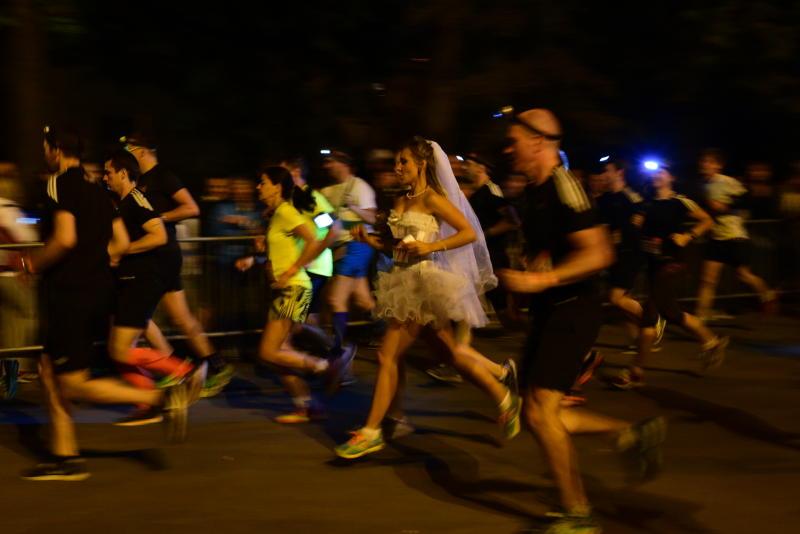 Свыше шести тысяч человек пробежались по московским улицам