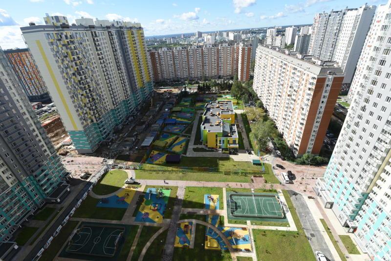 Около 700 спортивных объектов появится в Новой Москве до 2035 года