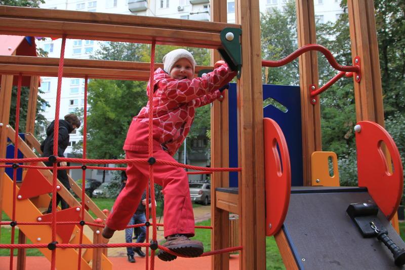 Новые игровые комплексы появятся в дачных поселках Новой Москвы