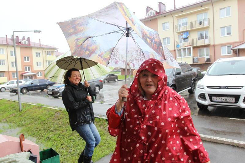 Дождь и облачную погоду обещают 5 июля в Москве