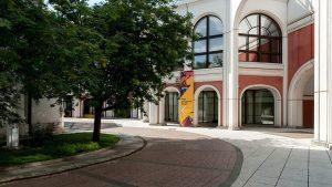 Внутренний дворик открылся для посещения в Третьяковской галерее