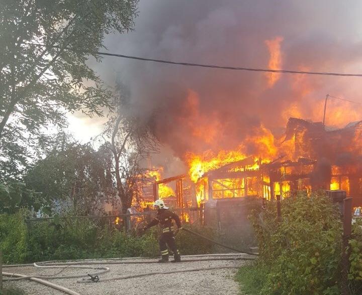В Новой Москве потушили 350-метровый пожар