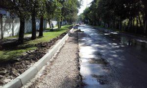 Работы по расширению дорог в Ватутинках завершат к началу сентября. Фото: пресс-служба администрации поселения