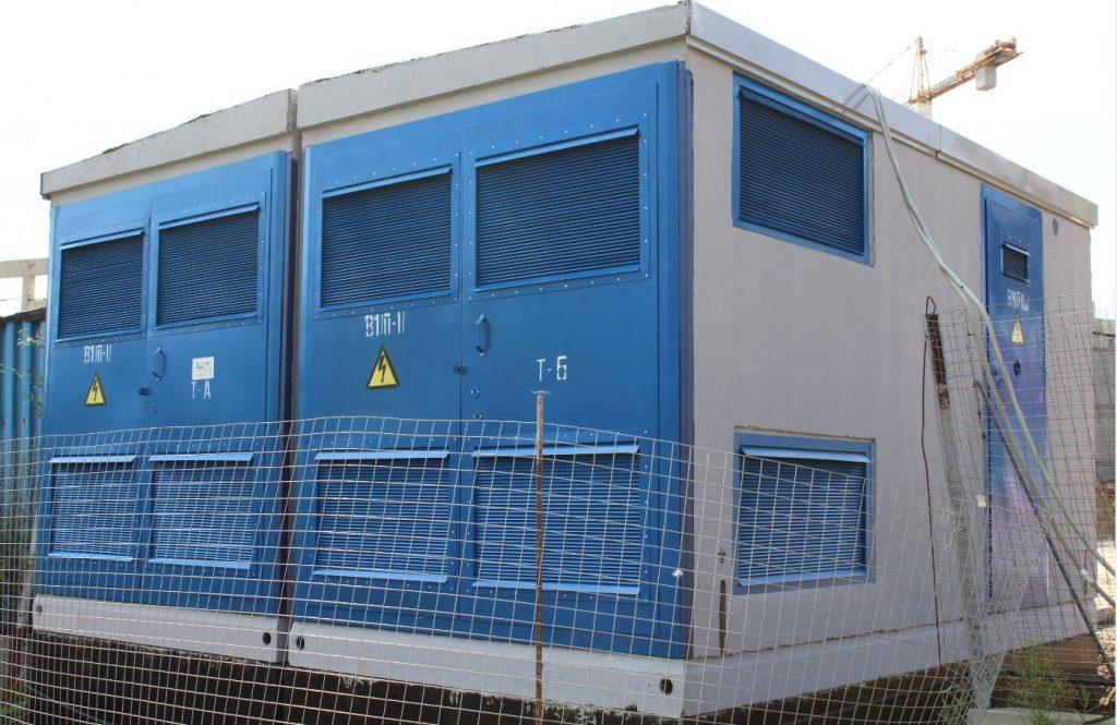 Образовательный комплекс в Коммунарке обеспечили электроэнергией