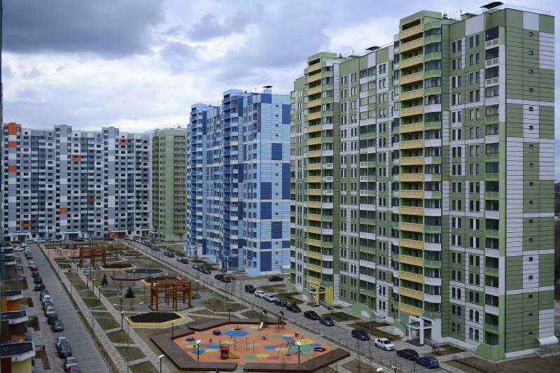 Около 500 тысяч «квадратов» недвижимости ввели в Новой Москве с начала года
