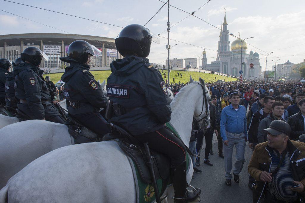 В Москве ограничат движение на Курбан-байрам