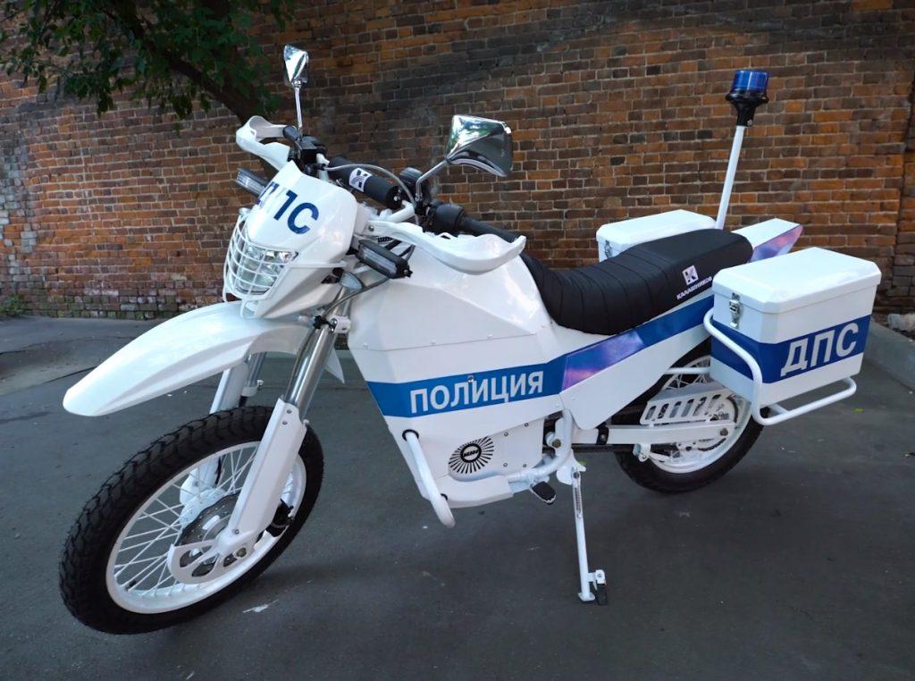 Полиция Москвы испытала «мотоциклы Калашникова»
